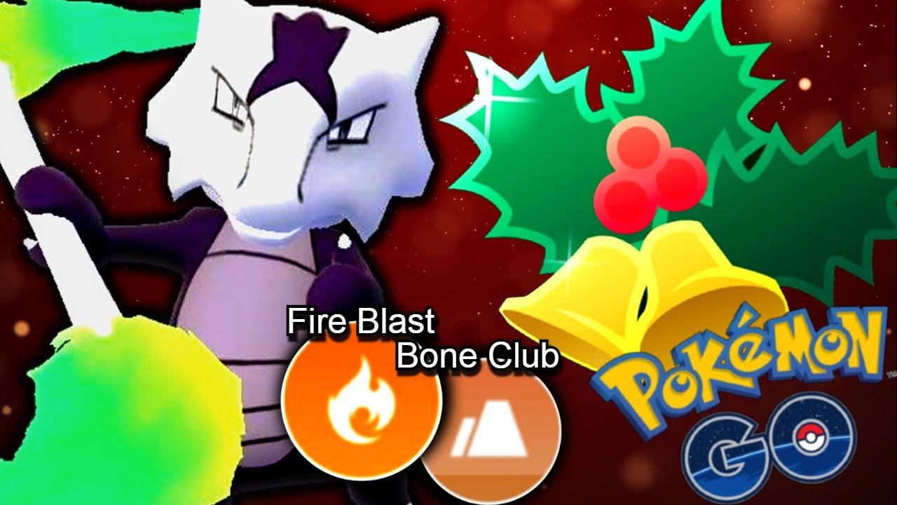 HIGH-RISK FIREBLAST MAROWAK BURNING HOLIDAY CUP!   Pokémon GO Battle League