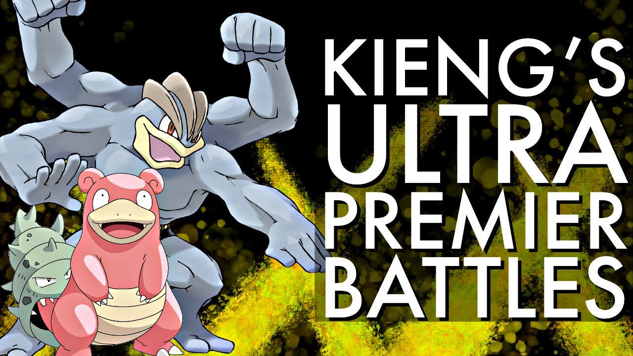 KIENG'S ULTRA PREMIER BATTLES | GO BATTLE LEAGUE