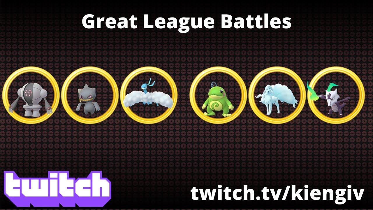 MORE KIENG GREAT LEAGUE BATTLES | GO BATTLE LEAGUE