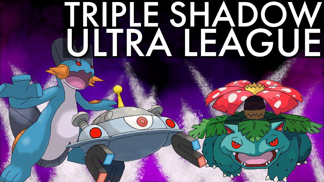 TRIPLE SHADOW ULTRA PREMIER BATTLES | GO BATTLE LEAGUE