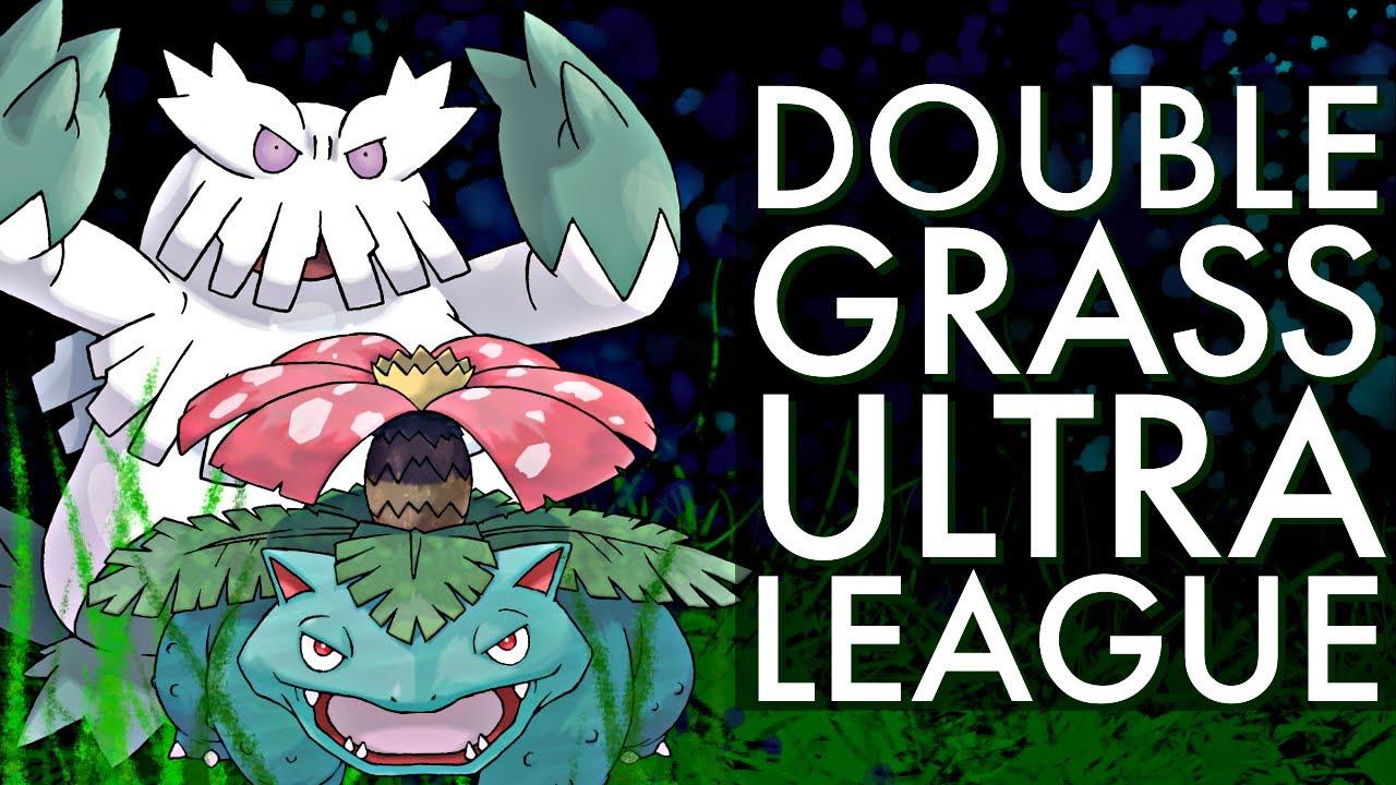DOUBLE GRASS ULTRA PREMIER BATTLES | GO BATTLE LEAGUE