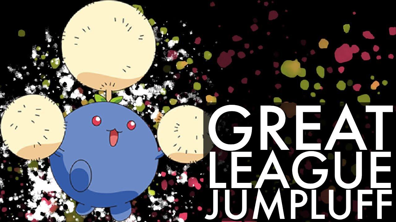 GREAT LEAGUE JUMPLUFF BATTLES | GO BATTLE LEAGUE