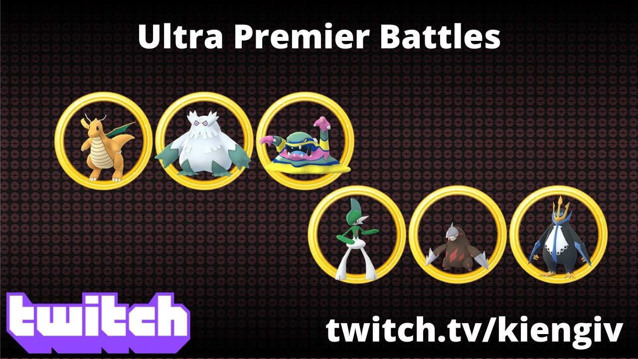 MY ULTRA PREMIER BATTLES | GO BATTLE LEAGUE