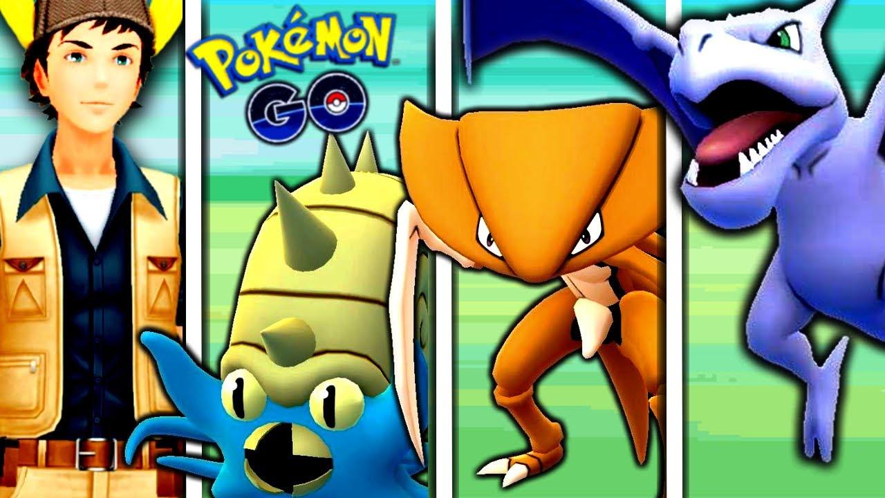 TRIPLE FOSSIL TEAM CHALLENGE IN KANTO CUP!   Pokémon GO Battle League