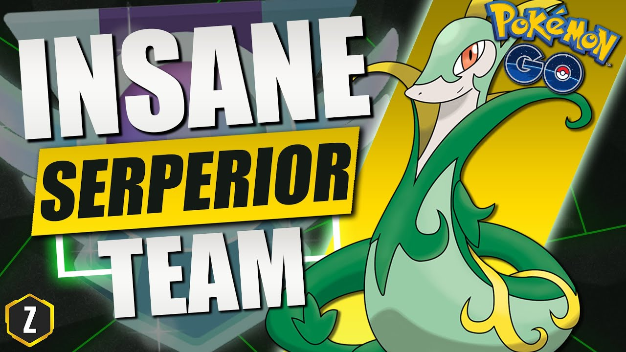 Crazy Strong Great League Team with Serperior in Pokémon GO Battle League!