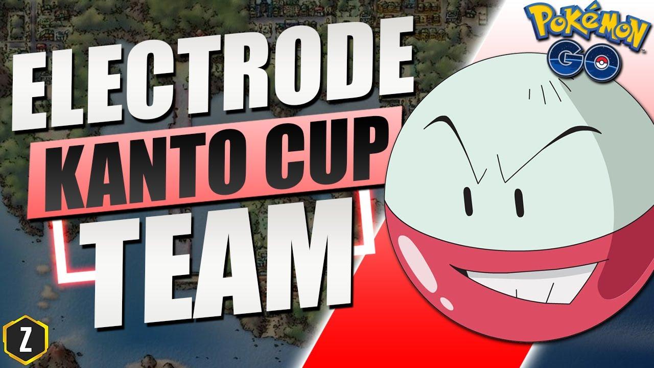 INSANE Kanto Cup Team with Electrode for Pokémon GO Battle League!