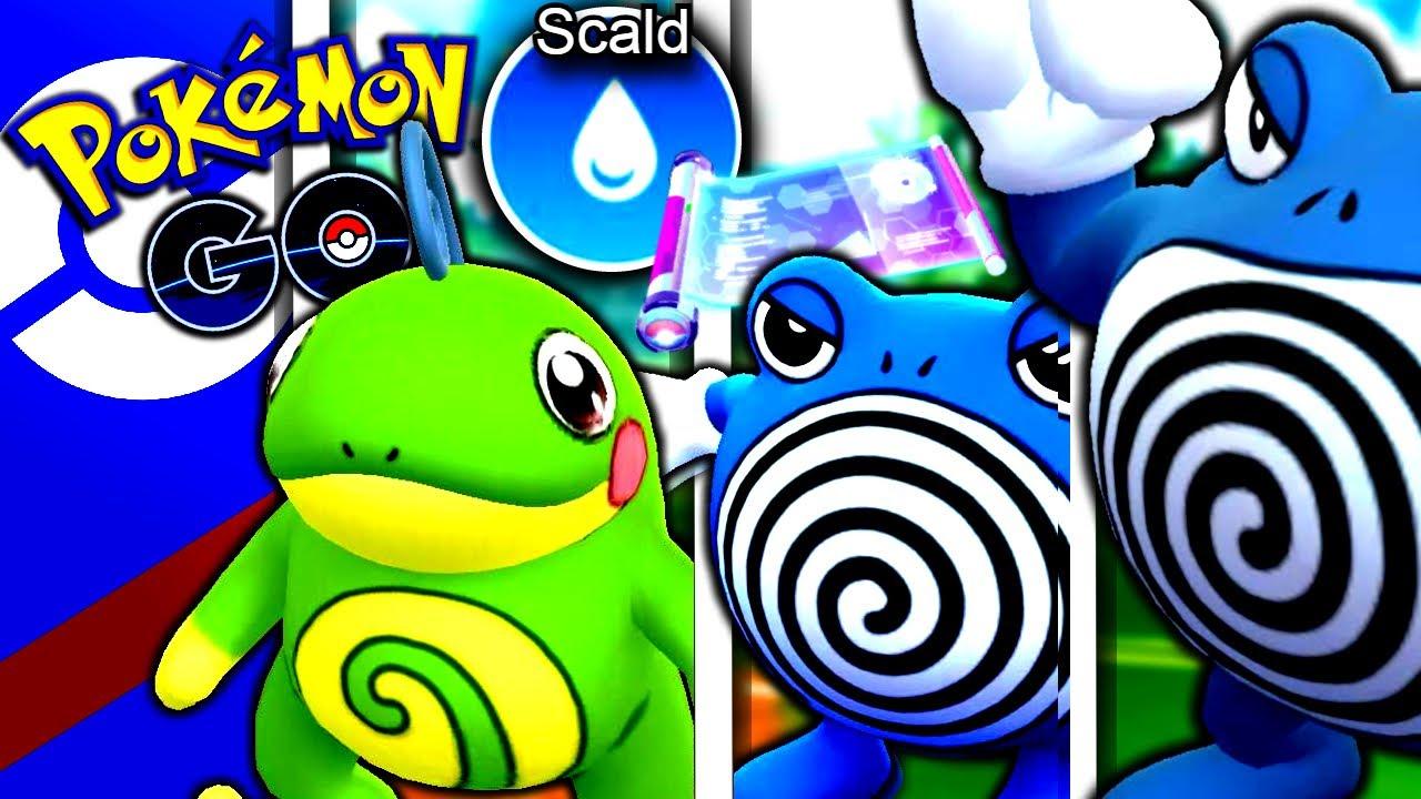 "Triple ""POLI"" Team w/ SCALD POLIWHIRL!   Pokémon GO Battle League"