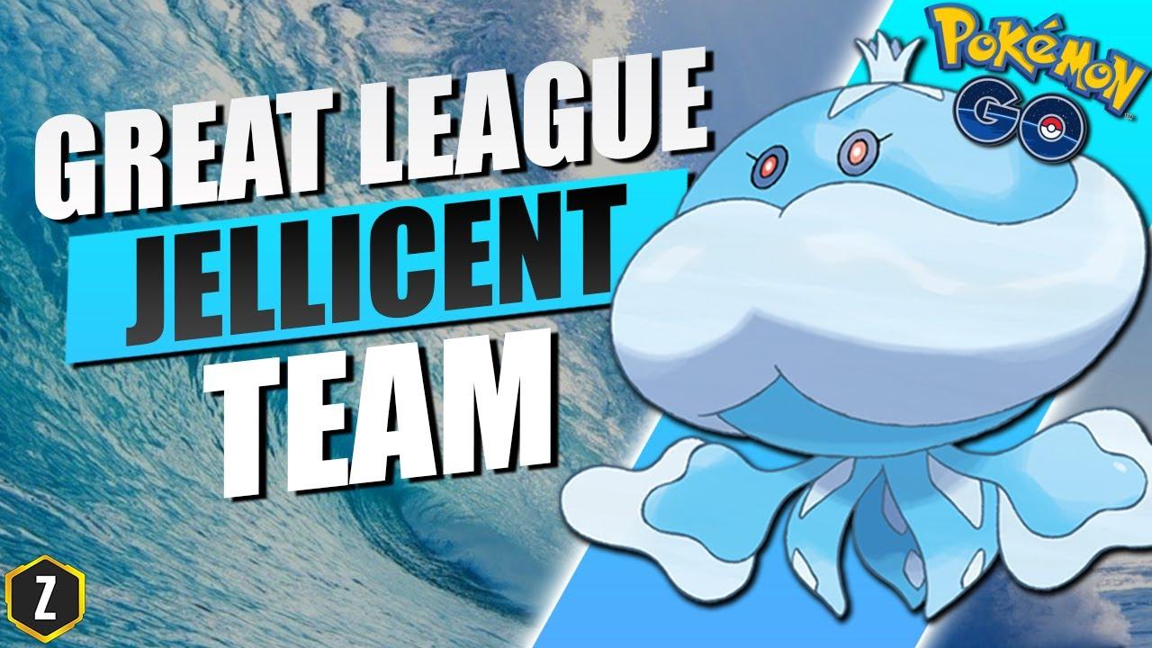 Amazing Great League Team with Jellicent in Pokémon GO Battle League! – ZyoniK