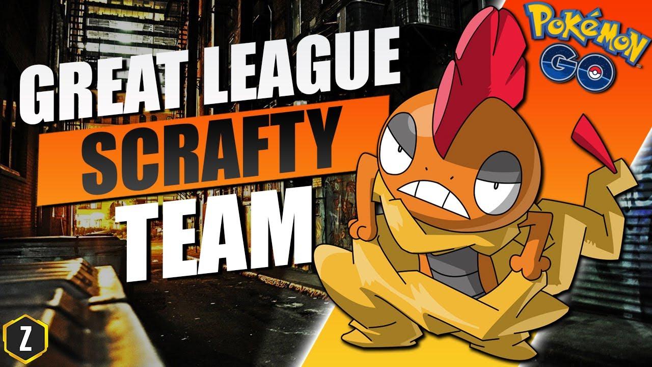Crazy Strong Great League Team with Scrafty in Pokémon GO Battle League! – ZyoniK