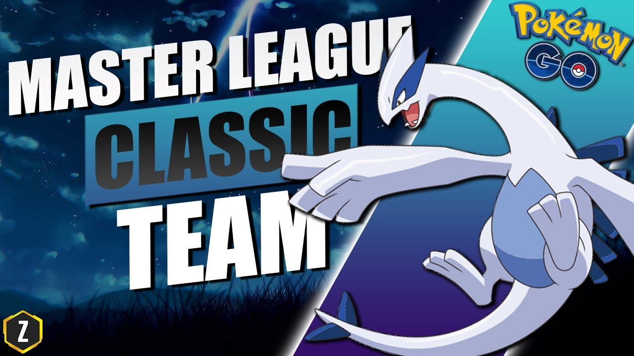 STRONG Master League Classic Team with Lugia in Pokémon GO Battle League!