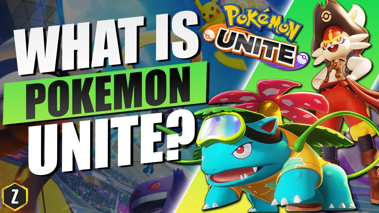 What is Pokemon Unite?