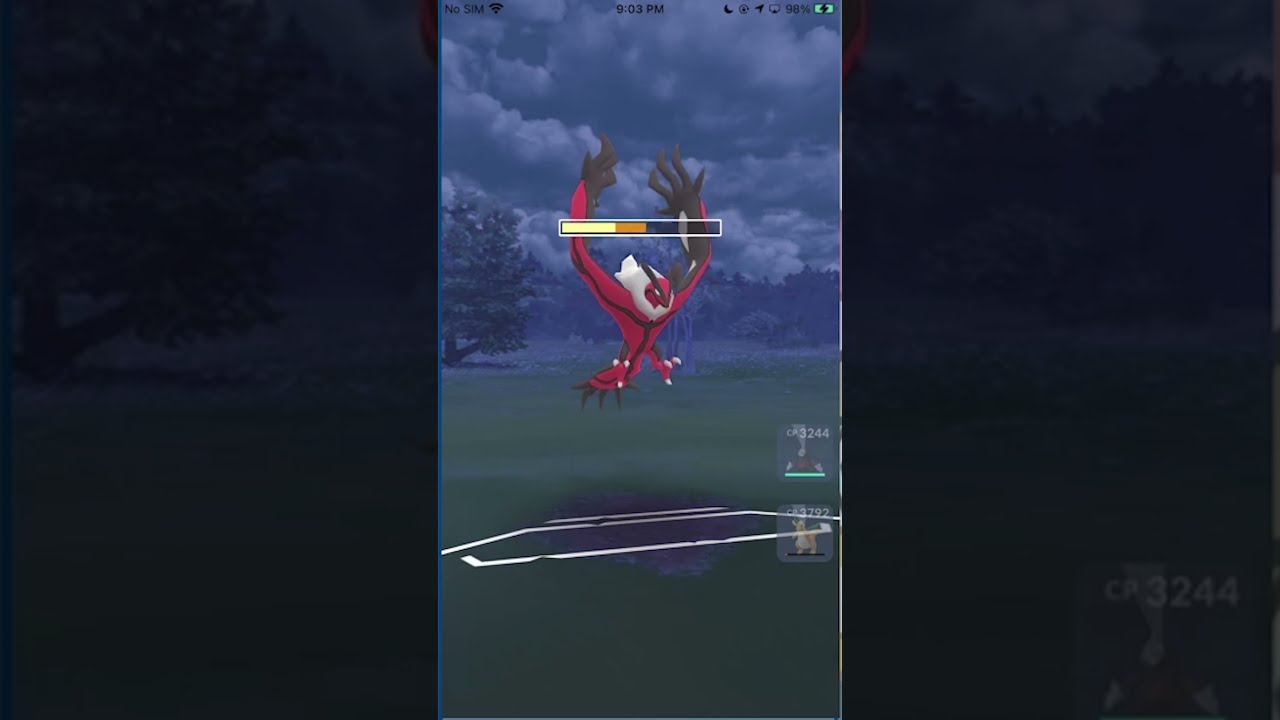 When shields are down; YVELTAL goes to TOWN | Go Battle League