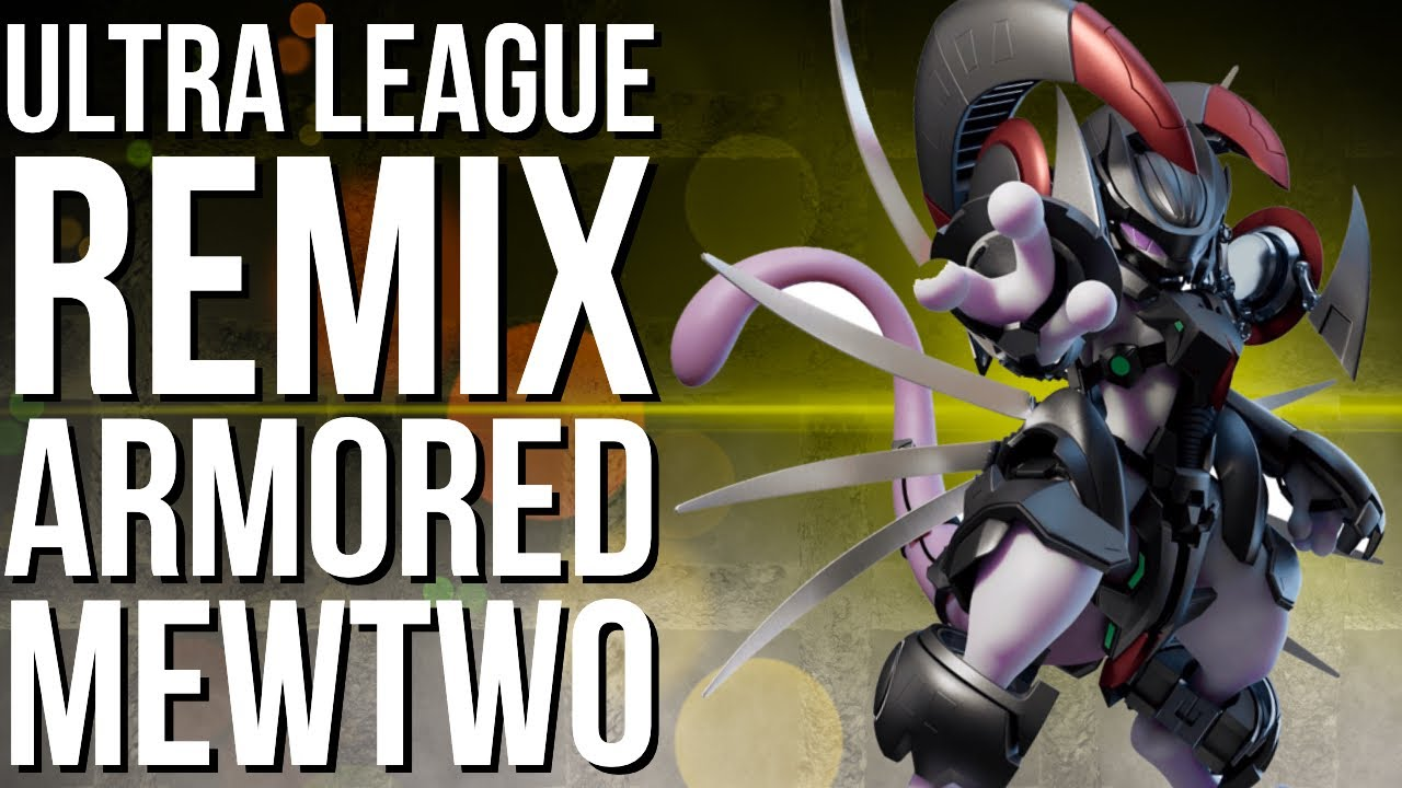 ARMORED MEWTWO IS OP IN ULTRA LEAGUE REMIX | GO BATTLE LEAGUE
