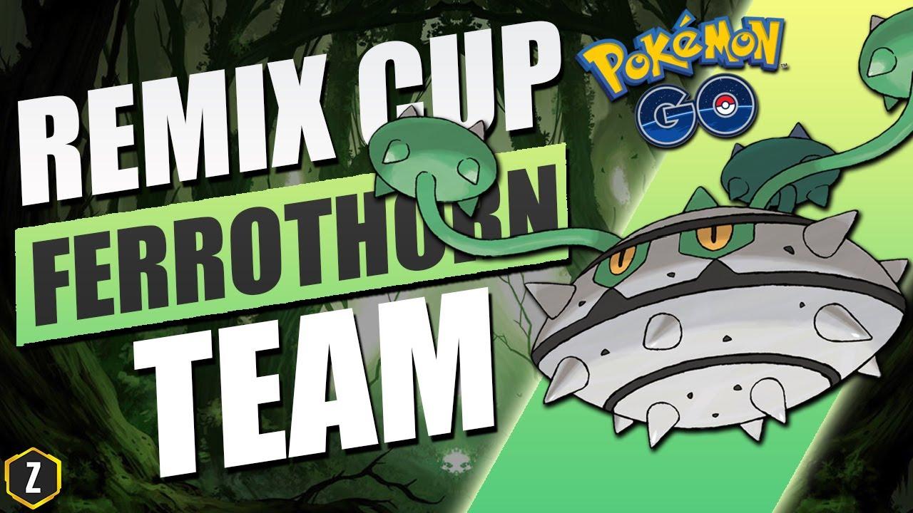Deadly Ferrothorn Team for Ultra League Remix Cup in Pokémon GO Battle League!