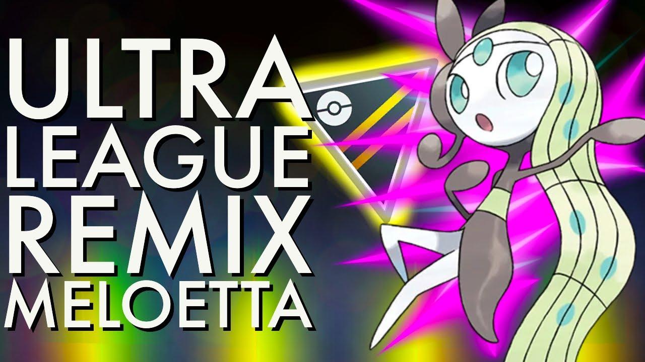 MELOETTA ULTRA LEAGUE REMIX BATTLES | GO BATTLE LEAGUE