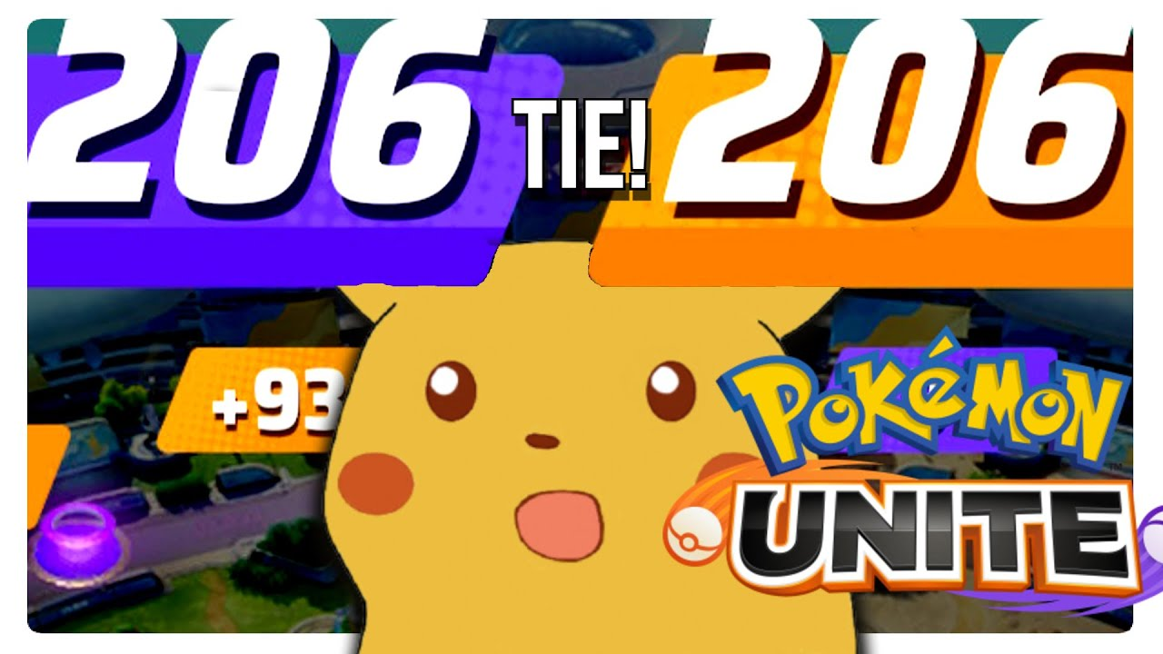 This CRAZY Battle Ended In An EXACT TIE?!   Pokémon UNITE